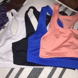 sports bras set of 4